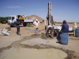2006 Drilling team North darfur